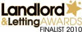 Landlord & Tenant Awards Finalist 2010